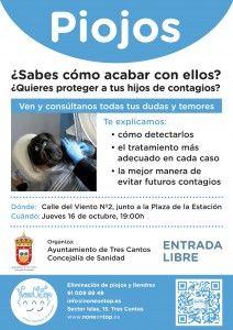 Charla informativa sobre cómo prevenir los piojos