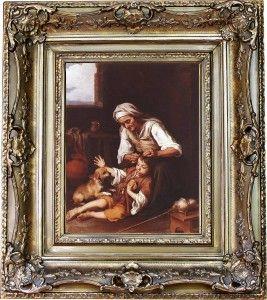 Los piojos son protagonistas de diferentes obras de arte, como sucede en esta pintura de Murillo.