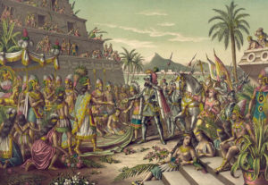 Se dice que los aztecas obsequiaban a su emperador Moctezuma con piojos y así lo atestiguó Hernán Cortés