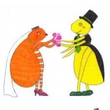 Cuando un piojo y una pulga se casan... ¡la fiesta termina con todos los invitados rascándose!